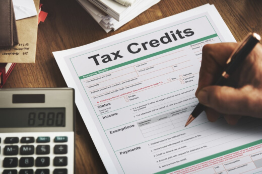 You Might Be Eligible For Tax Credits!